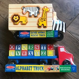 Melissa & Doug Alphabet Truck & Animal Rescue NEW